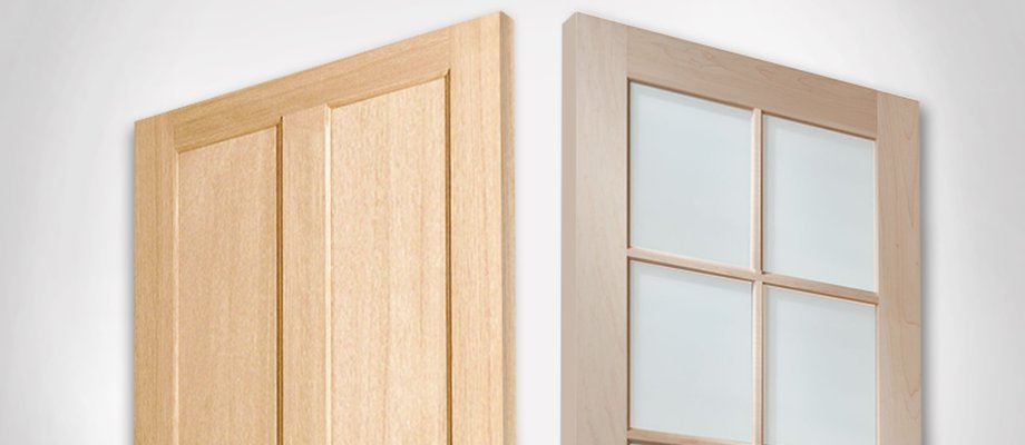 Rail Doors & Krosswood Doors 24 In. X 80 In. Rustic Knotty