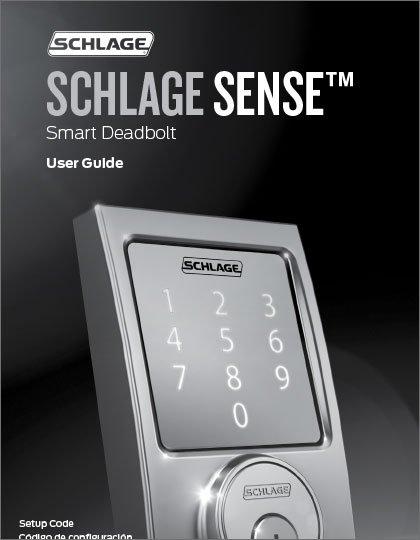 Schlage Sense User Guide