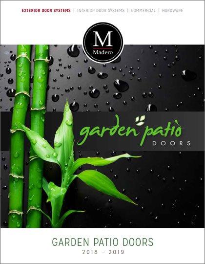 Madero 2018 Garden Patio Doors