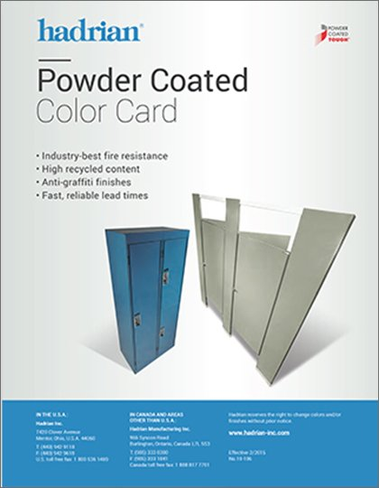Powder Coated Colours