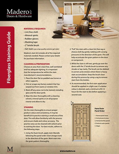 Madero Staining Guide