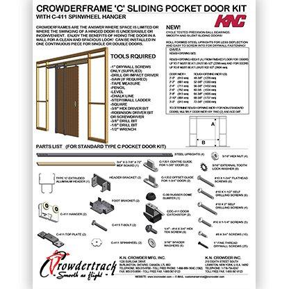 Type C Pocket Door Kit