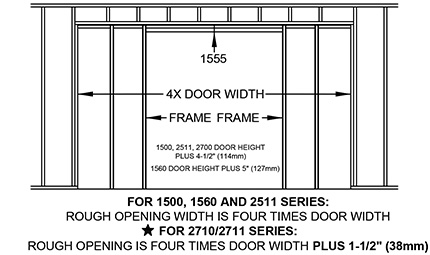Madero Johnson Pocket Door Kits
